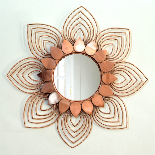 Sunflower Mirror Big by Sahil & Sarthak